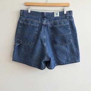 RIDERS BY LEE Vtg Denim Carpenter Shorts